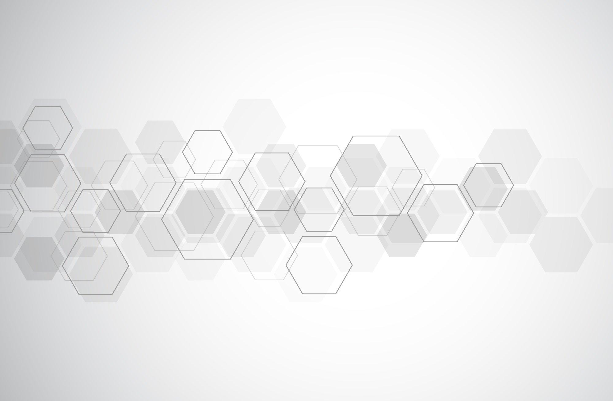 Landing Page Hexagon
